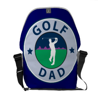 Fathers Day Golf Dad Commuter Bag