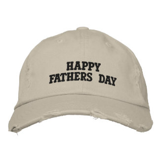 fathers day hat embroidered hat