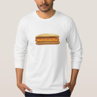 Father's Day Hot Dog T Shirt World's Greatest Dad