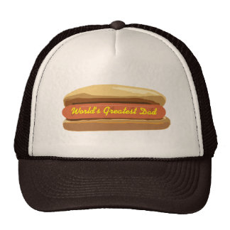 Father's Day Hot Dog World's Greatest Dad Cap