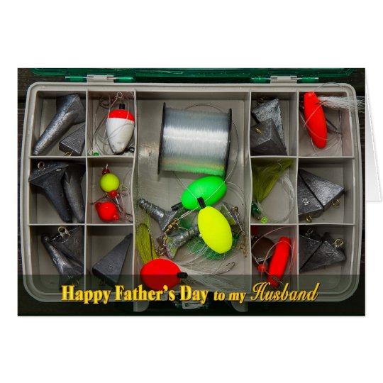 Father's Day - Husband - Fishing Tackle Box