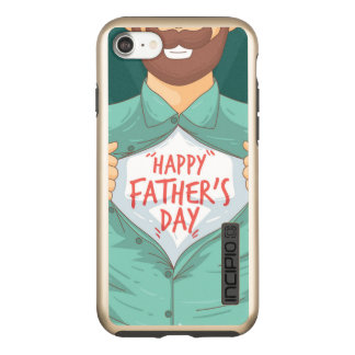 Fathers Day iPhone 7 DualPro Shine, Gold Incipio DualPro Shine iPhone 8/7 Case