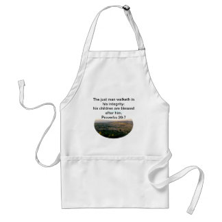 Father's Day Italy & Scripture Gifts Standard Apron