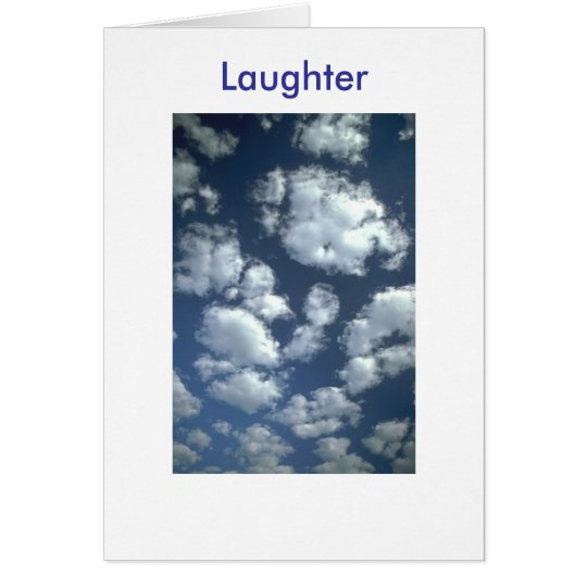 """Father's Day""  Laughter Card"