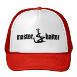 Father's Day Master Baiter Fishing Dad Cap