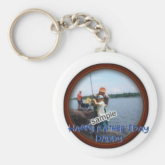 Father's Day Memento Frame Key Ring