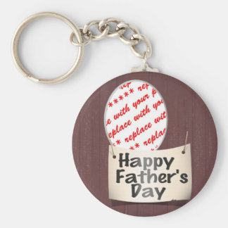 Father's Day Memento Frame Key Chains