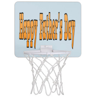 father's day mini basketball hoop