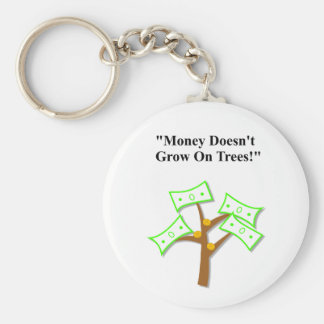 "Father's Day ""Money Doesn't Grow On Trees"" Key Ring"