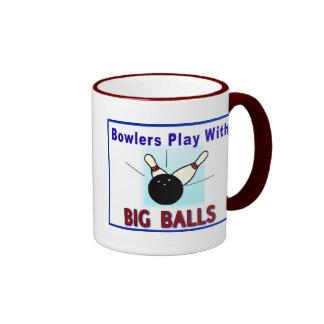 Father's Day Mug: Bowling Fun - Ringer Mug