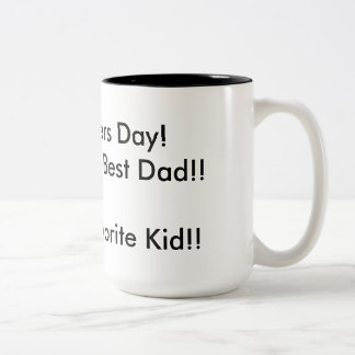 Fathers Day Mug From favorite kid
