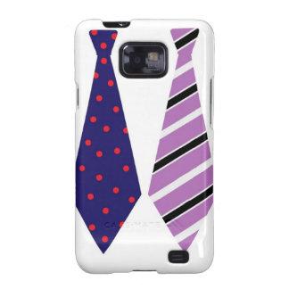 Father's Day Neck Ties Mod Stylish Classy Samsung Galaxy SII Case