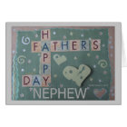 Father's Day - Nephew - Scrapbook Card