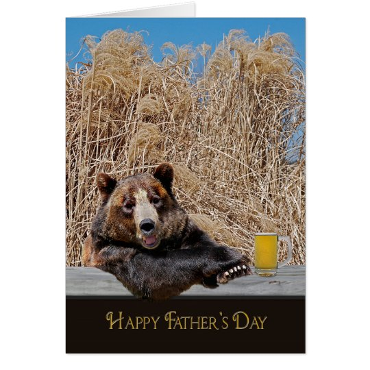 Father's Day Papa Bear Card