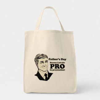 Father's Day PROcreation Canvas Bag
