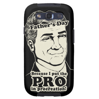 Father's Day PROcreation Galaxy SIII Cover