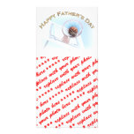 Father's Day Sports Basketball Photo Card Template