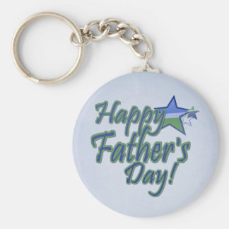 fathers day Star Dad Key Ring