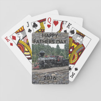 Fathers Day Steam Engine Card Deck Poker Deck