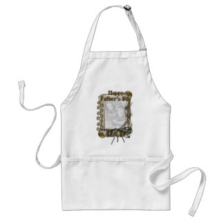 Fathers Day - Stone Paws - ADD YOUR PHOTO - DAD Apron