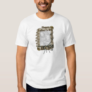 Fathers Day - Stone Paws - ADD YOUR PHOTO - DAD T-shirt