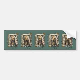 Fathers Day - Stone Paws - Afghan Bumper Stickers