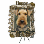 Fathers Day - Stone Paws - Airedale Photo Cut Outs