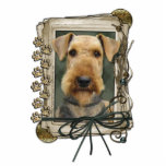 Fathers Day - Stone Paws - Airedale Acrylic Cut Outs