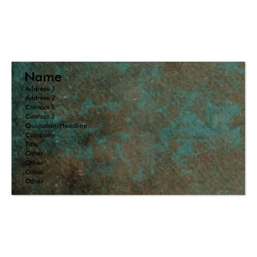 Fathers Day - Stone Paws - Australian Terrier Business Card Templates