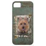 Fathers Day - Stone Paws - Australian Terrier iPhone 5 Case