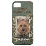 Fathers Day - Stone Paws - Australian Terrier iPhone 5 Cases