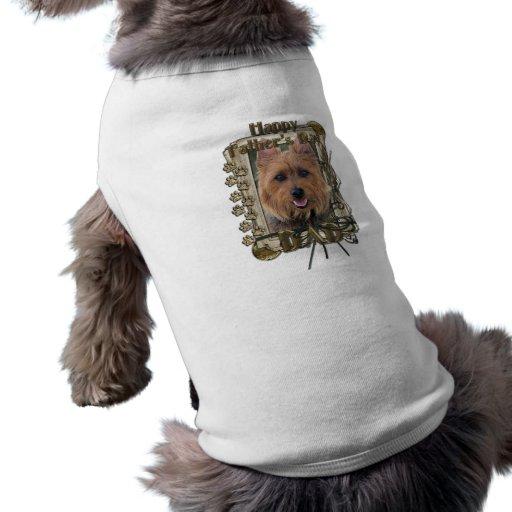 Fathers Day - Stone Paws - Australian Terrier Sleeveless Dog Shirt