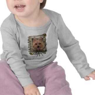 Fathers Day - Stone Paws - Australian Terrier T-shirts