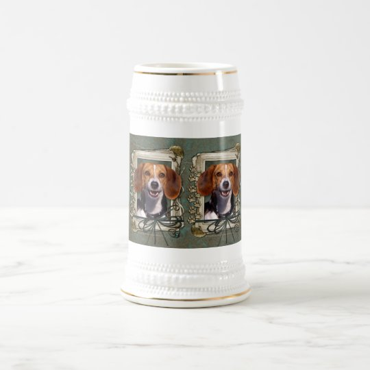 Fathers Day - Stone Paws - Beagle Beer Stein