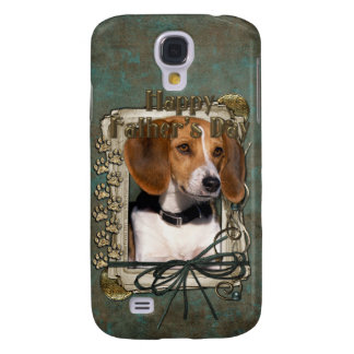 Fathers Day - Stone Paws - Beagle Samsung Galaxy S4 Case