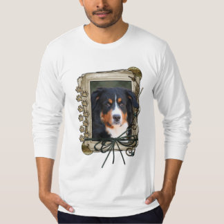 Fathers Day - Stone Paws - Bernese Mountain Dog Tshirts