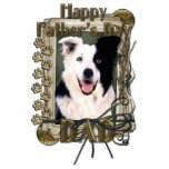 Fathers Day - Stone Paws - Border Collie Cut Outs