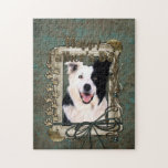 Fathers Day - Stone Paws - Border Collie Puzzles