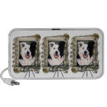 Fathers Day - Stone Paws - Border Collie Travel Speaker