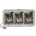 Fathers Day - Stone Paws - Boston Terrier Mp3 Speaker