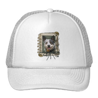 Fathers Day - Stone Paws - Cattle Dog Trucker Hat