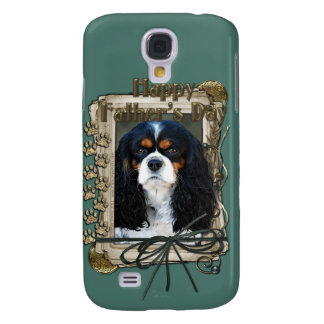 Fathers Day - Stone Paws - Cavalier Samsung Galaxy S4 Covers