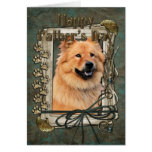 Fathers Day - Stone Paws - Chow Chow - Cinny