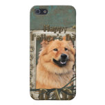 Fathers Day - Stone Paws - Chow Chow - Cinny - Dad iPhone 5 Case