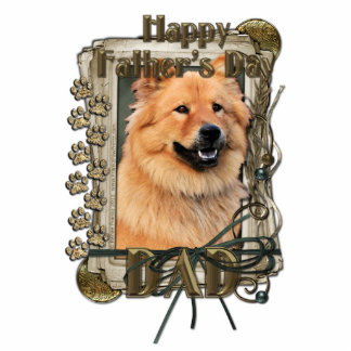 Fathers Day - Stone Paws - Chow Chow - Cinny - Dad Photo Cutout