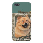 Fathers Day - Stone Paws - Chow Chow - Cinny Cover For iPhone 5/5S