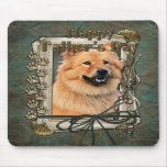 Fathers Day - Stone Paws - Chow Chow - Cinny Mousepad
