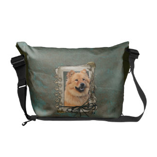 Fathers Day - Stone Paws - Chow Chow Courier Bag