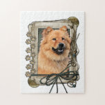 Fathers Day - Stone Paws - Chow Chow Jigsaw Puzzles