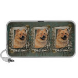 Fathers Day - Stone Paws - Chow Chow Travel Speaker